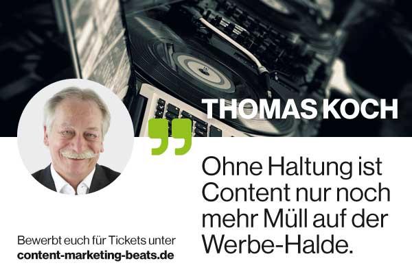 Bewerbt Euch hier für Tickets für die Content Marketing Beats in Frankfurt und Hamburg