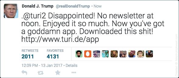 Fake-Trump-Tweet-App