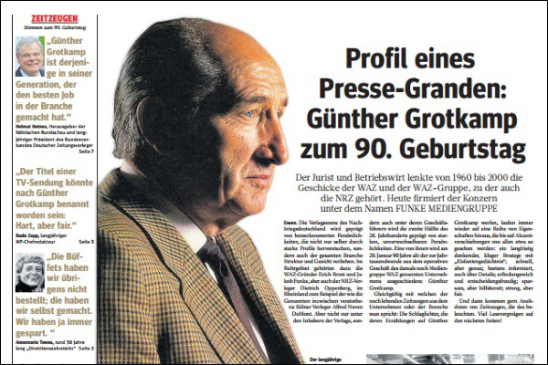 Günther Grotkamp 90er Geburtstag 600