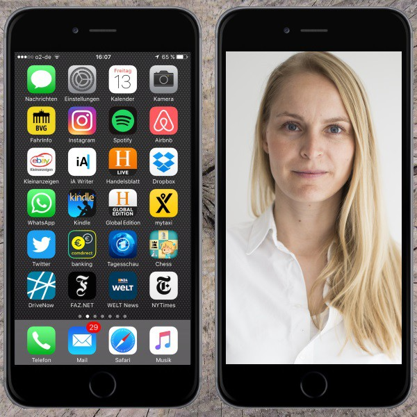 Mein Homescreen Melanie Petersen