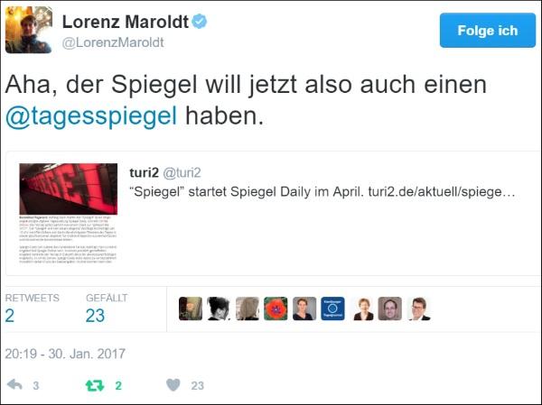 Retweet-Lorenz Maroldt-Tagesspiegel 600