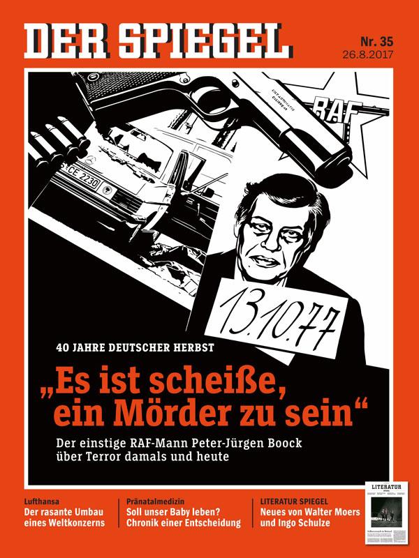 Anzeige spiegel 35 2017 40 jahre deutscher herbst turi2 for Spiegel 40 2017