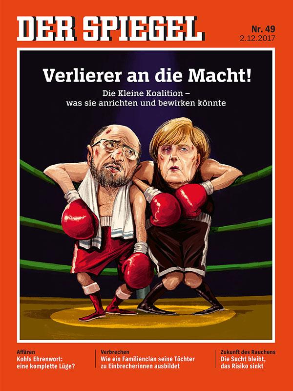 Anzeige spiegel 49 2017 verlierer an die macht turi2 for Spiegel titelblatt