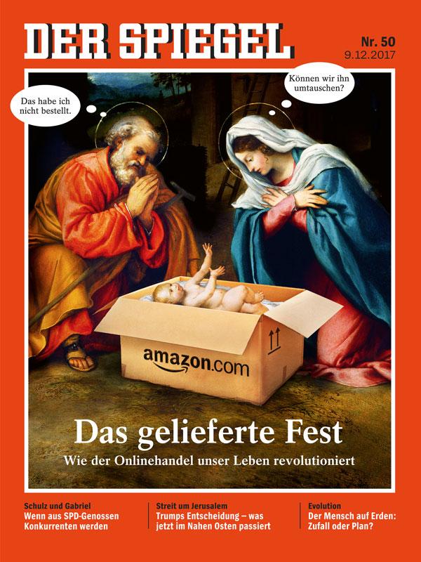 Anzeige spiegel 50 2017 das gelieferte fest turi2 for Spiegel tv heute