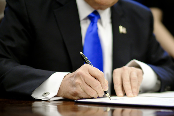 President Trump Signs Three More Executive Orders