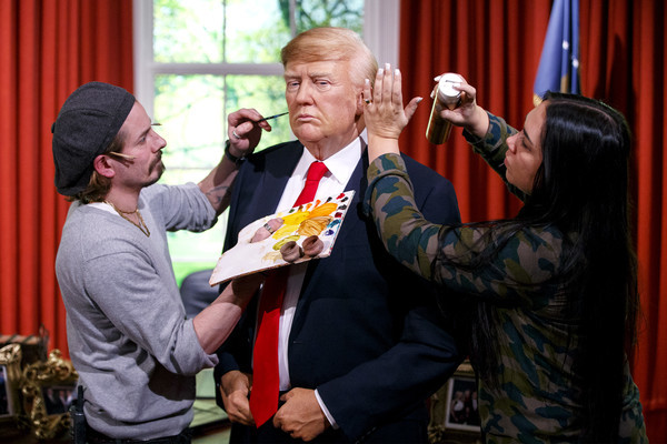 Donald Trump wax figure