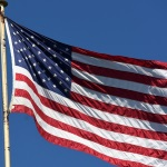 USA Flagge, Symbolbild2 150