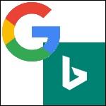 Google, Bing, Suchmaschinen 150