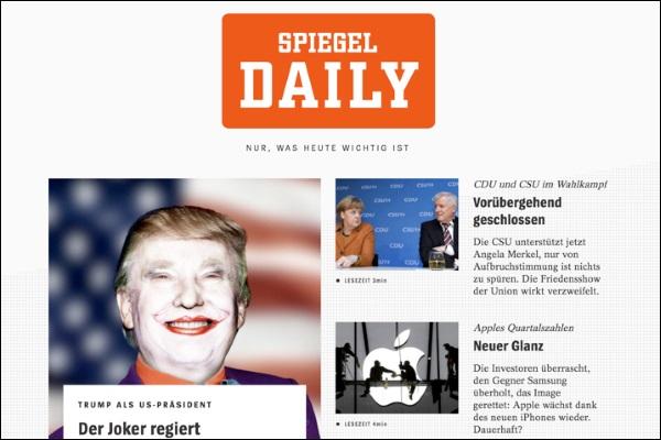 Spiegel startet morgen t gliche digital zeitung spiegel for Zeitung spiegel