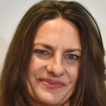 Die deutsche Schauspielerin Catrin Striebeck