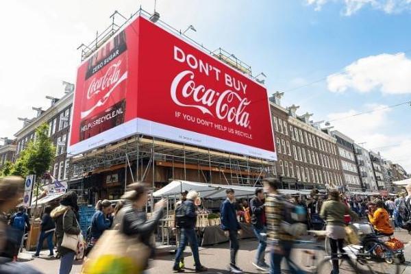 Bild des Tages: Coca-Cola will keine Umweltsünder-Kunden. | turi2