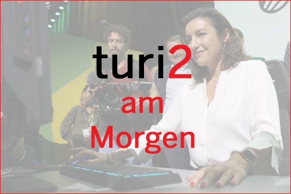 turi2 am Morgen: Dorothee Bär, Sahra Al-Dujaili, Facebook Watch. | turi2