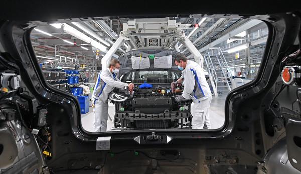Langsamer Anlauf der ID.3-Produktion bei VW in Zwickau