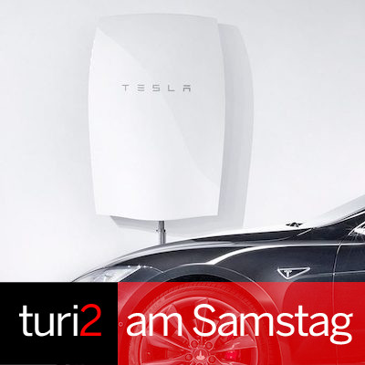 turi2 am Samstag: Tesla, Katia Wagner, Manfred Droste. | turi2